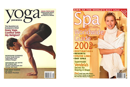 Yoga & Spa Magazines featuring articles by Linda Prout